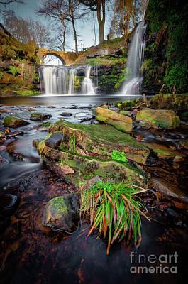 Spot Of Tea - Lumb Hole Falls by Mariusz Talarek