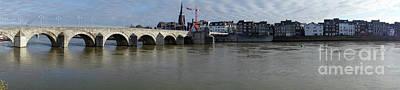 Sint Servaasbrug Photograph - Maastricht The Netherlands  Sint Servaasbrug St. Servatius Bridge by Richard Wareham