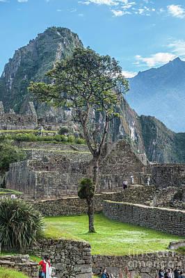 Digital Art - Machu Picchu by Roman Gomez