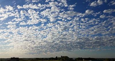 Photograph - Mackerel Sky by Caryl J Bohn