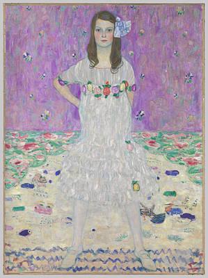 Klimt Painting - Mada Primavesi by MotionAge Designs