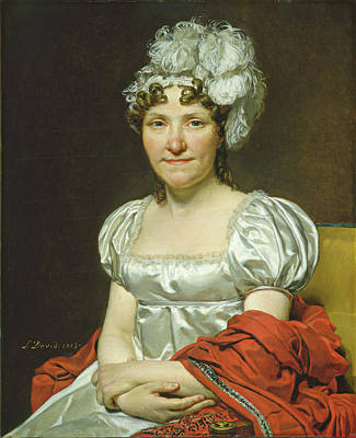 Painting - Madame David by Jacques-Louis David