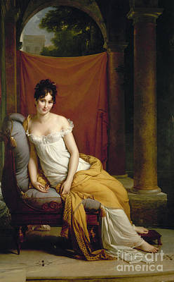Painting - Madame J.f. Recamier  by Granger