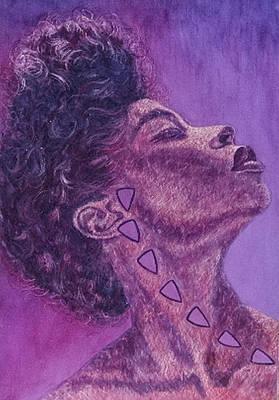 Painting - Madame Zasha by Shahid Muqaddim