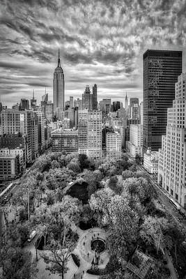 Madison Square Park Aerial View Art Print
