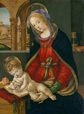 Painting - Madonna And Child by Filippino Lippi