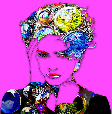 Cool Digital Art - Madonna by Love Art