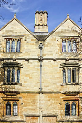 Photograph - Magdalen College Gargoyles Oxford by Terri Waters
