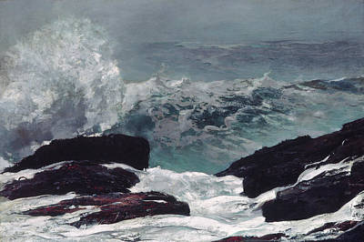 Painting - Maine Coast by Winslow Homer