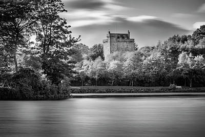 Mains Castle East Kilbride, Scotland Art Print