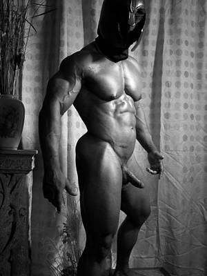 Photograph - Male Muscle Art by Jake Hartz