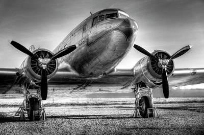 Photograph - Malev Lisunov Li-2  by David Pyatt