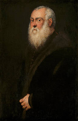 Painting - Man With A White Beard by Tintoretto