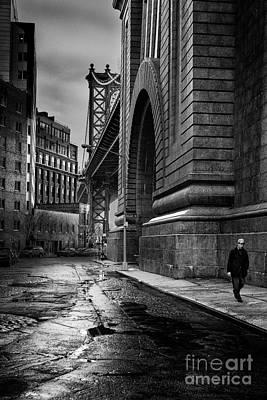 Manhattan Bridge Art Print by John Farnan