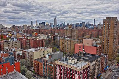 Art Print featuring the photograph Manhattan Landscape by Joan Reese