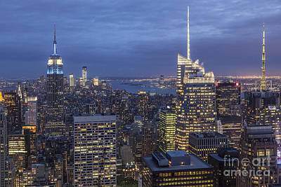 Photograph - Manhattan Skyline New York by Juergen Held