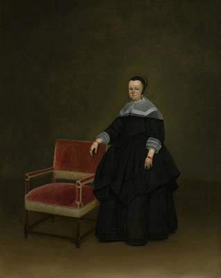 Painting - Margaretha Van Haexbergen by Gerard ter Borch