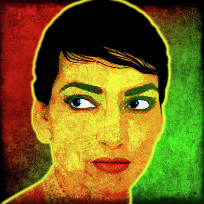 Digital Art - Maria Callas by Gary Grayson