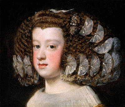 Painting - Maria Teresa, Infanta Of Spain by Diego Velazquez