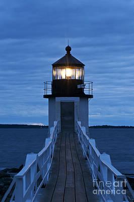 Marshall Point Light Art Print by John Greim