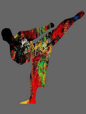 Mixed Media - Martial Arts Collection by Marvin Blaine