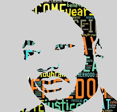 Martin Luther King Jr I Have A Dream Art Print