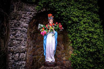 Mary Statue - Knock Shrine - Knock Ireland Art Print