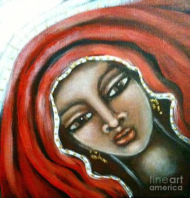 Painting - Maryam by Maya Telford