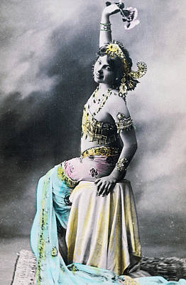 Vintage Erotica Photograph - Mata Hari by French School