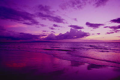 Photograph - Maui Sunset by Ron Dahlquist - Printscapes