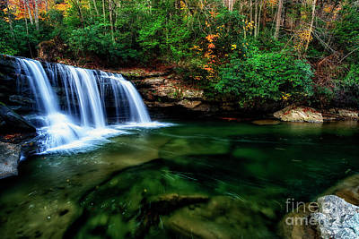 Mccoy Falls Birch River Art Print