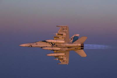 Transportation Digital Art - Mcdonnell Douglas F/a-18 Hornet by Maye Loeser