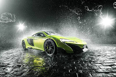 Photograph - Mclaren 675lt by George Williams