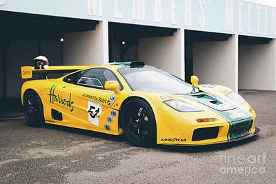 Photograph - Mclaren F1 Gtr by Roger Lighterness