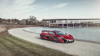 Photograph - Mclaren P1 by George Williams