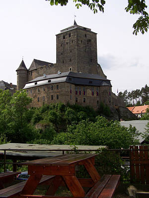 Medieval Castle Kost Czech Republic Original