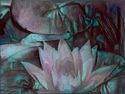 Digital Art - Meditation by Richard Laeton