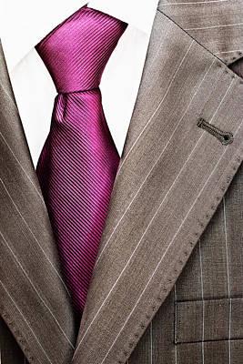 Lapel Mixed Media - Men's Suit by Boyan Dimitrov