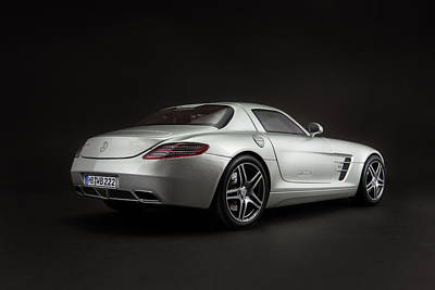 Car Photograph - Mercedes-benz Sls Amg by Evgeny Rivkin