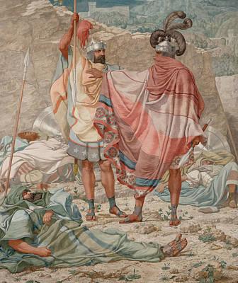 Mercy - David Spareth Saul's Life Art Print by Richard Dadd