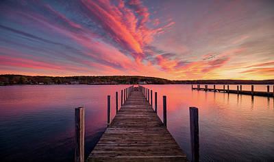 Photograph - Meredith Bay by Robert Clifford
