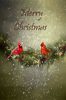 Merry Christmas Art Print by Darren Fisher