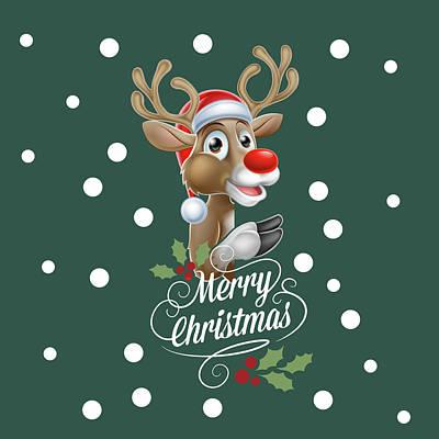 Horror Digital Art - Merry Christmas by Mark Ashkenazi