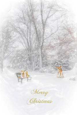 Merry Christmas Original by Mary Timman