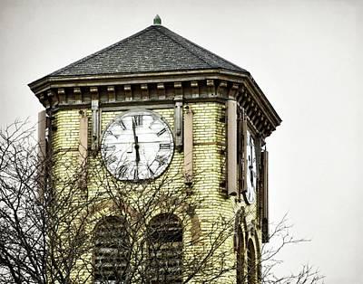 Photograph - Methodist Clock Tower by JAMART Photography