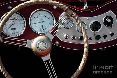 Photograph - Mg Dash by Dennis Hedberg