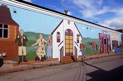 Military Street Art Art Print by Robert Braley