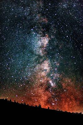 Photograph - Milky Way by Chris Thodd