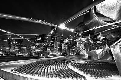 Photograph - Millennium Park by Sebastian Musial