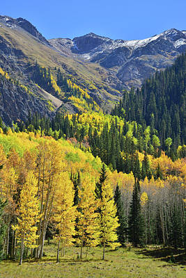 Print featuring the photograph Million Dollar Highway  by Ray Mathis